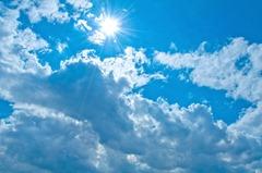 豊富な太陽光