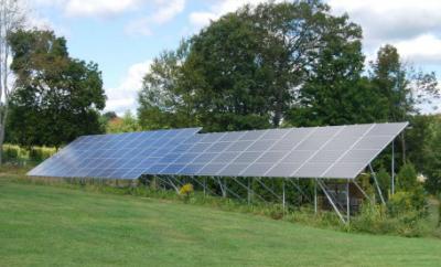 太陽光をエネルギーにして発電