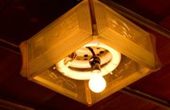古い蛍光灯
